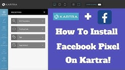 How To Install Facebook Pixel on Kartra Pages