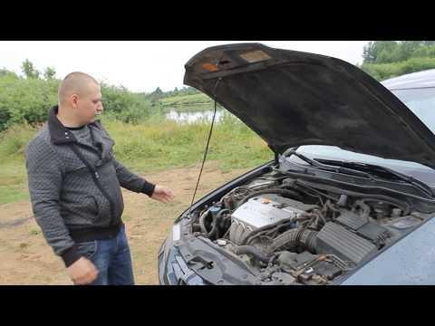 Обзор Honda Accord VII 2.4л 190л.с / Хонда Аккорд 7