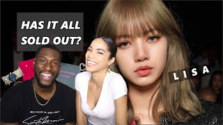 BLACKPINK's LISA QUEEN OF SOLD OUT |REACTION|
