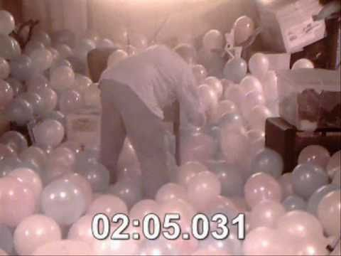 Popping 1000 Balloons - 7:53 minutes