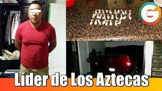 Capturan a líder de Los Aztecas en Ciudad Juárez #Chihuahua