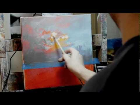 Painting A Sky in 4 Minutes!