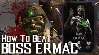 How to beat Boss Ermac | Mortal Kombat X | iOS, Android