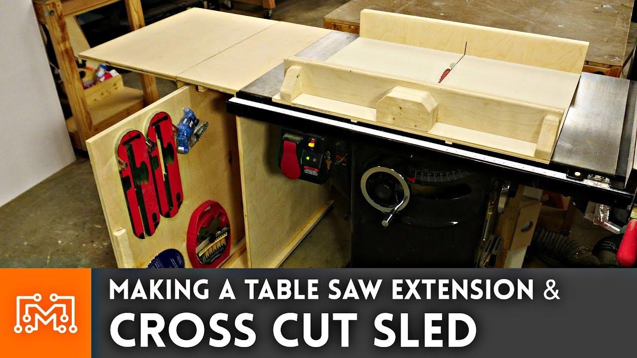 Cut Off Sled