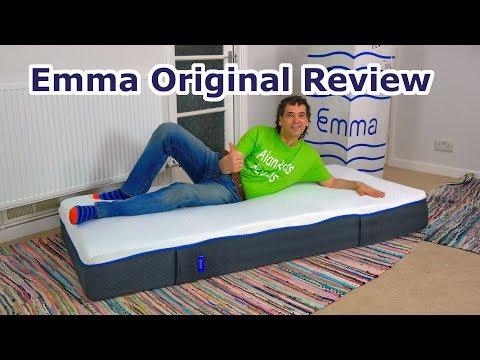Emma Original Mattress review 2018 - UK version - all foam