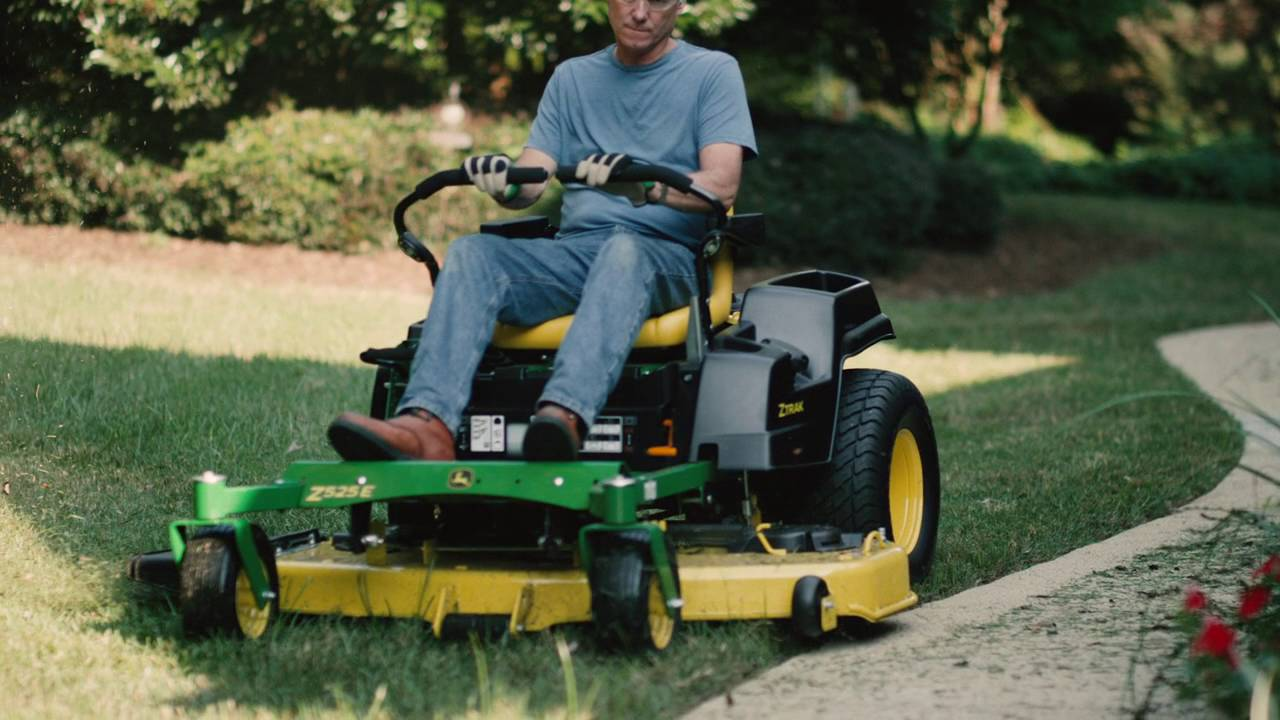 medium resolution of how to level a z500e mower deck john deere ztrak zero turn mower maintenance youtube
