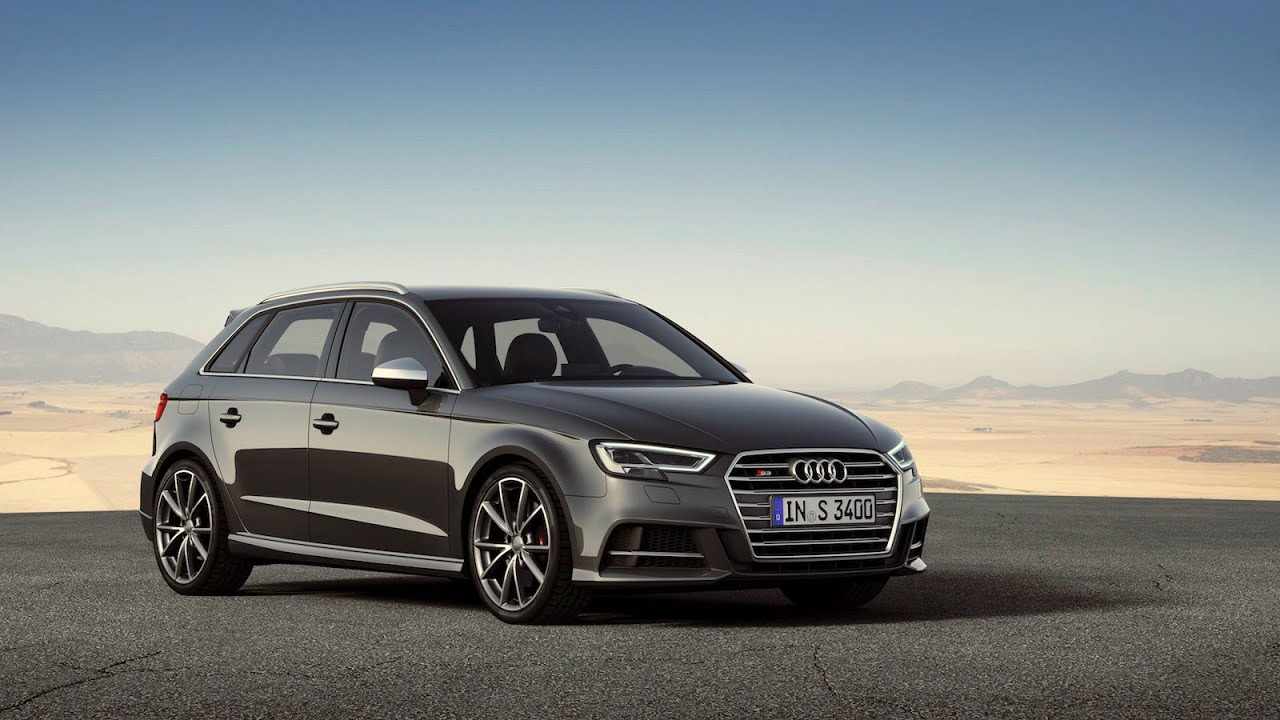 2017 Audi S3 Sportback Facelift