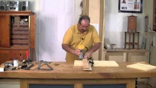 Shaker Stool - Milling Dados