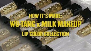 HOW IT'S MADE | WU-TANG X MILK MAKEUP LIP COLORS