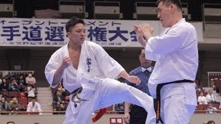 The 19th All Kanto Karate Tournament Open Weight Division Final Kaz...