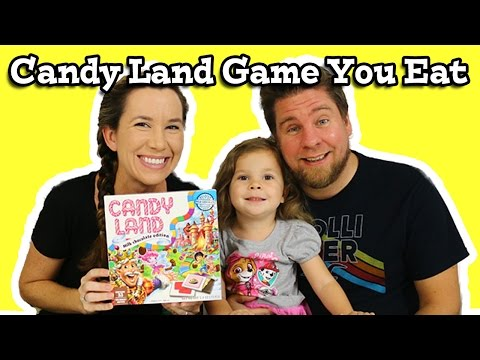 Candy Land Game You Can Eat