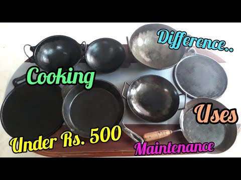 cast-iron-cookwares-in-india -difference-between-iron-&-cast-iron-cookwares/how-to-use