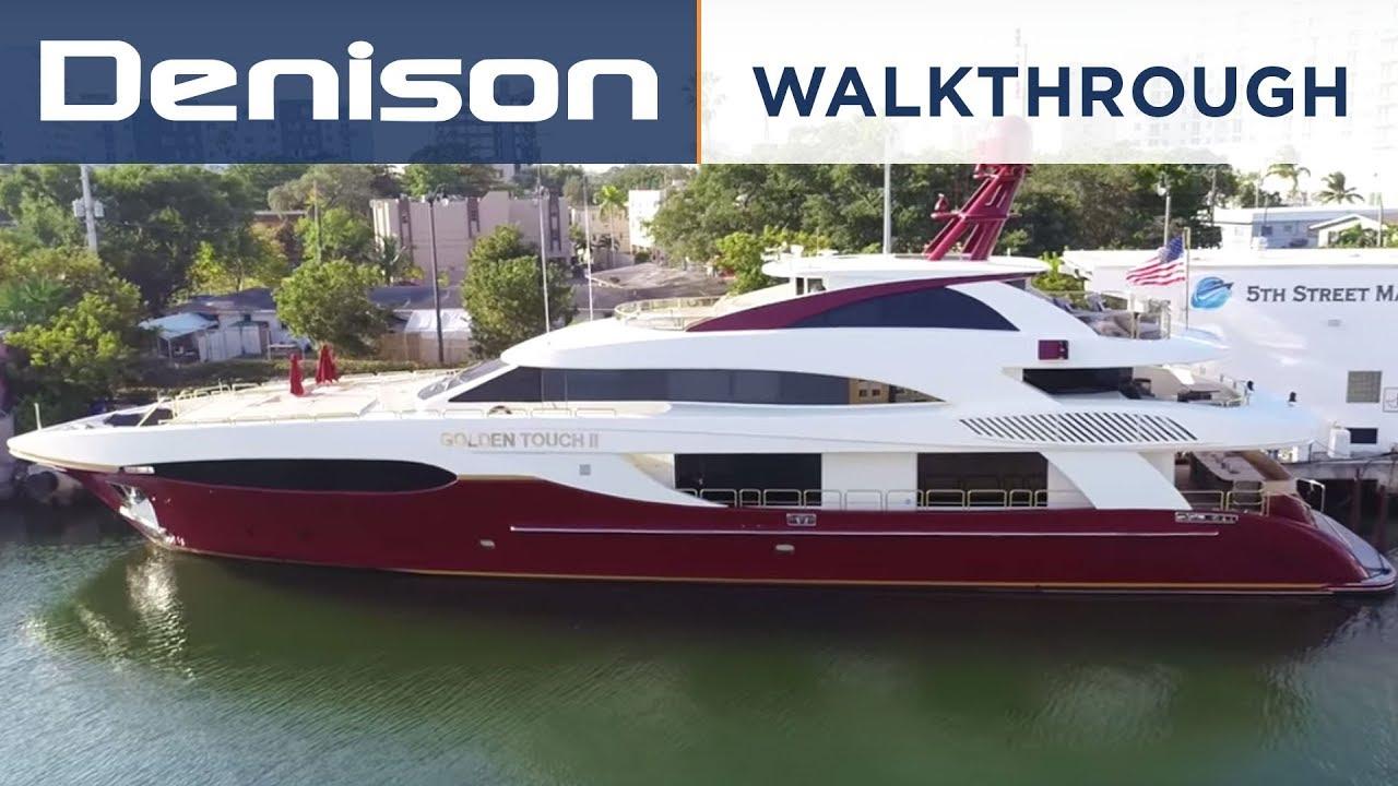 Golden Touch 147 Sensation Superyacht Walkthrough
