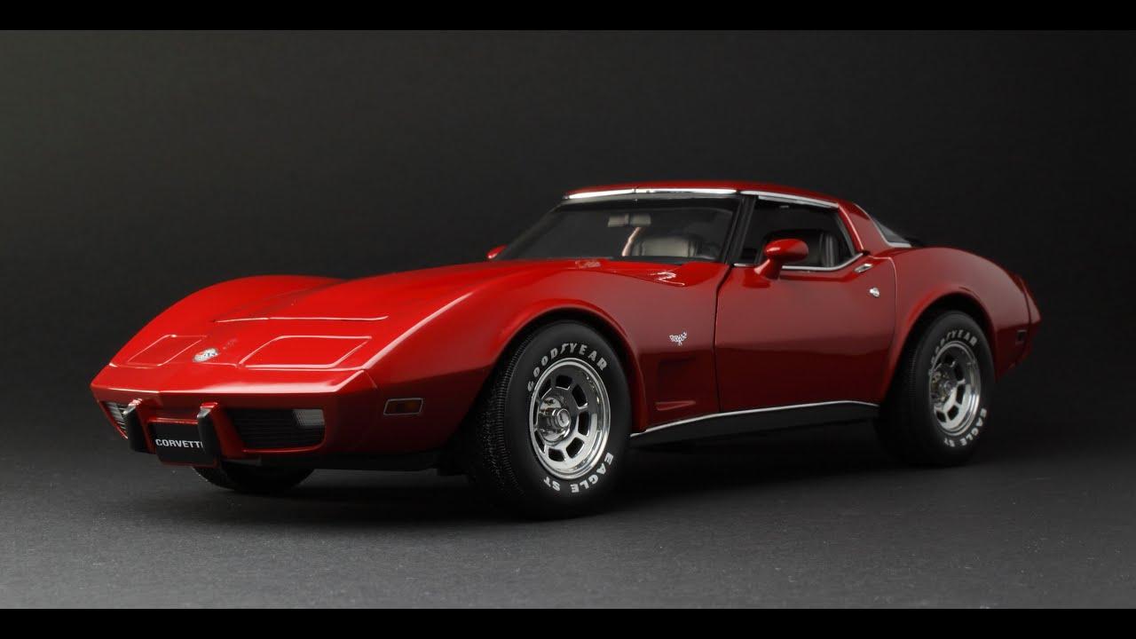 Chevrolet Corvette C3 L82 - FCaminhaGarage 1/18 - YouTube