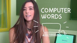 Weekly German Words with Alisa - Computer Words