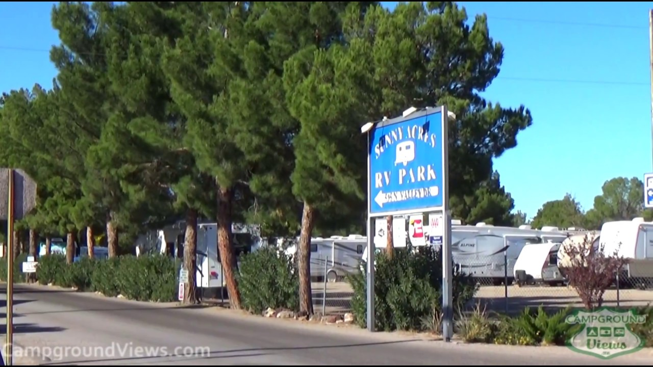 Sunny Acres RV Park Las Cruces New Mexico NM