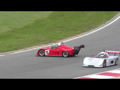 Car 70 spins Irish Supercars race   Brands Hatch Formula Ford festival 22oct17 1259p