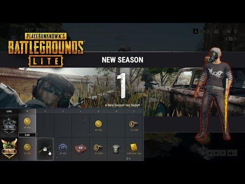 PUBG Lite Season 1/new Battle Pass (Tagalog)