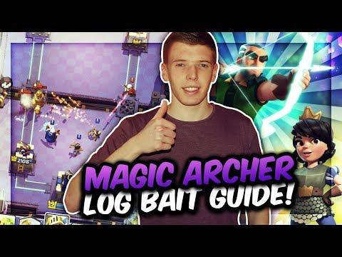 MAGIESCHÜTZE LOG BAIT vs. KONTER!   Deck Guide mit Tipps und Tricks   Clash Royale Deutsch