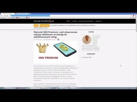 Jak stworzyć usługę SMS Premium w serwisie Dotpay - Płatności WordPress