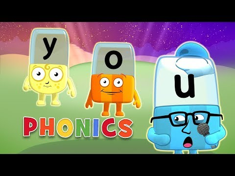 Phonics - Learn to Read | 3 Letter Words | Alphablocks