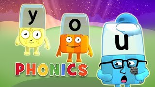 Phonics - Learn to Read 3 Letter Words Alphablocks