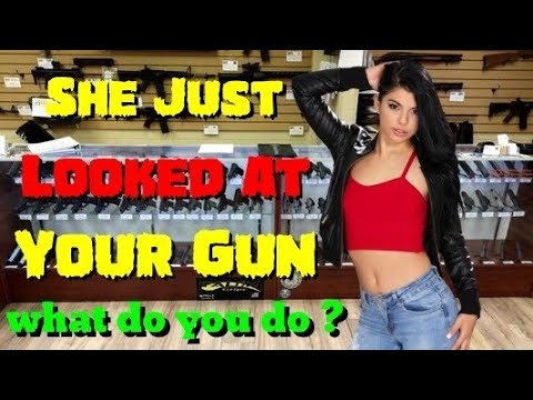 🔴 How Women Need To Be Treated In The Gun Shop