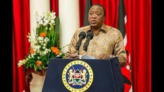 """""""Wanainchi wanasema wamechoka na hii mambo ya wabunge kujiongeza mshahara"""" President Kenyatta"""