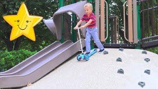 Сказочная Детская Площадка в Городе Вашингтон Развивающее Видео Для Детей Fun Play vlog влог