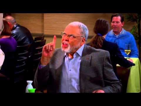 The Big Bang Theory - Sheldon meets James Earl Jones S07E14 [HD]