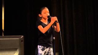 Alphabet Aerobics - Makeila 10 year old girl
