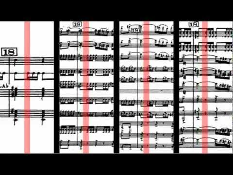 Ravel - Bolero (Scrolling Score)