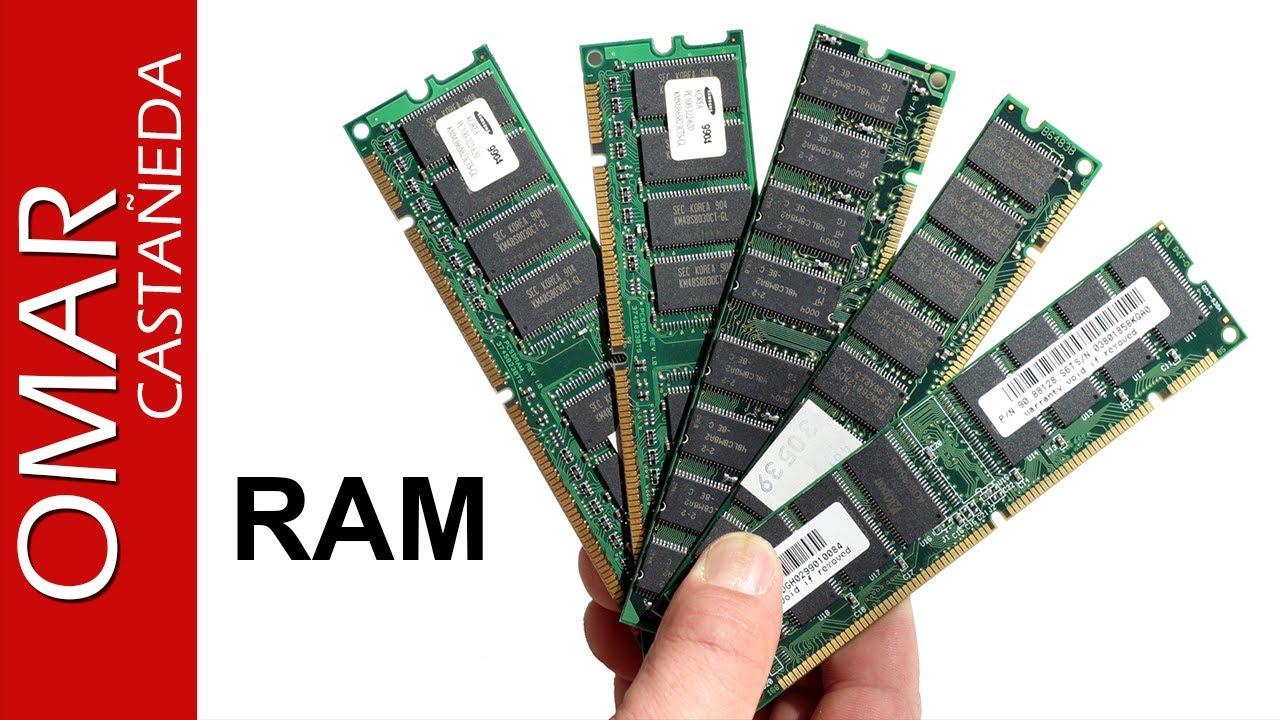 tarjetas de memoria ram para pc