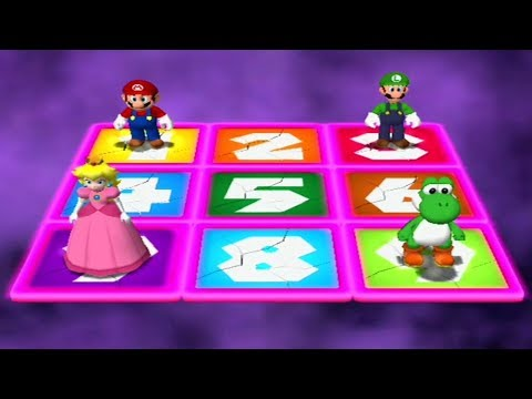 Mario Party 4 - All Extra Minigames