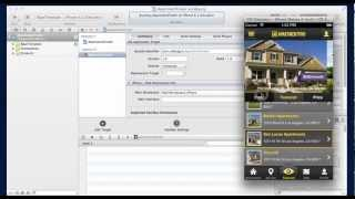 Apartment and Real Estate iPhone Complete App xCode