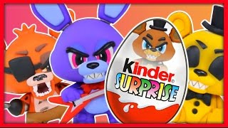 - Киндер Сюрприз. 5 ночей с Фредди. ФНАФ. 5 Nights at Freddy s. Kinder Surprise.