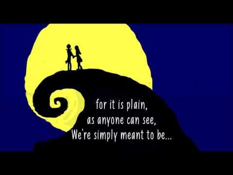Jack & Sally- Simply Mean't to be[LYRICS]