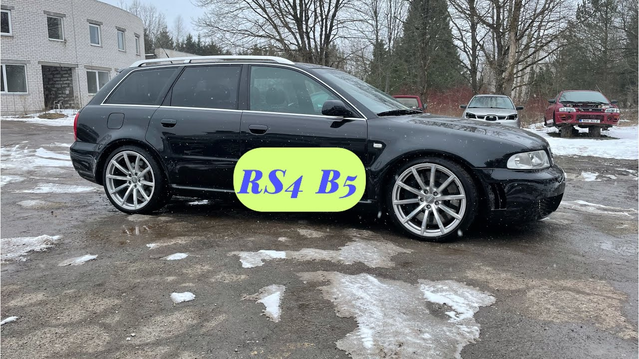 Audi RS4 B5 2.7 BiTurbo chain tensioner failure VLOG