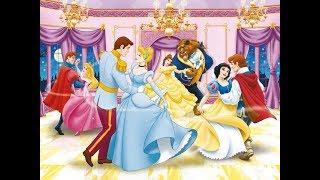 Принцеси Діснея 2017 Розпакування 10-ти кіндер сюрпризів танцюючі пари