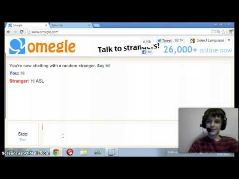 sites like omegle text
