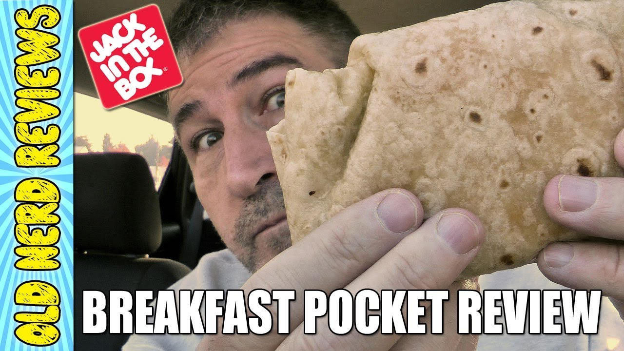 Jack In The Box Sausage & Egg Breakfast Pocket REVIEW