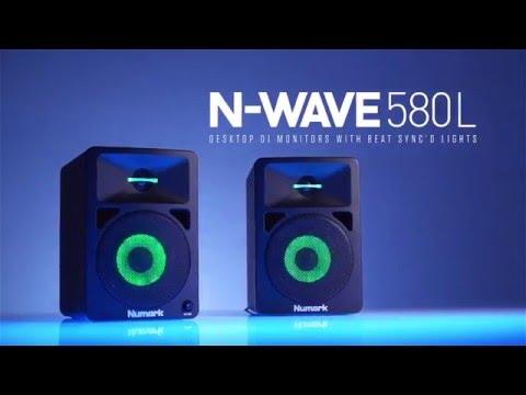 N-Wave 580L - DJ Monitors With Sync'd Lights