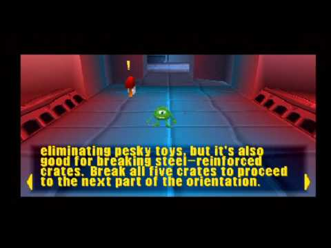 Monsters Inc. Scare Island (PS1 Gameplay)