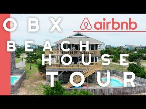 MY OBX BEACH HOUSE TOUR