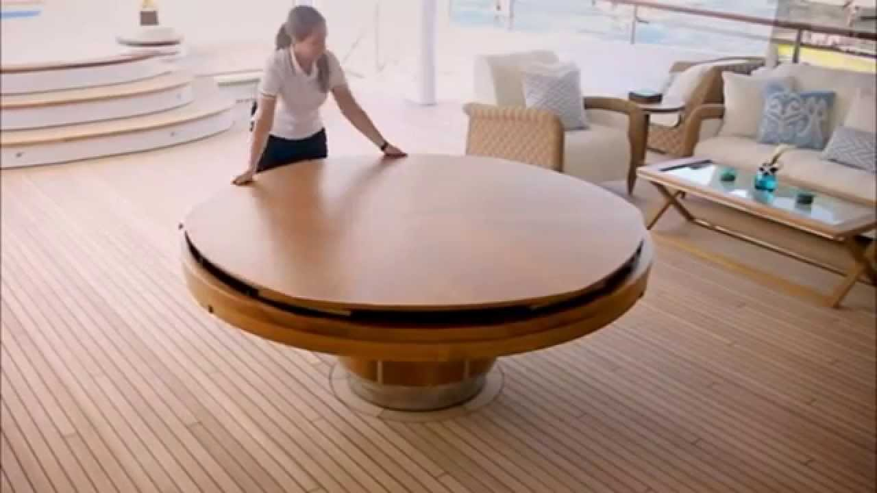 Tavolo rotondo che si allarga-Round table that stretches