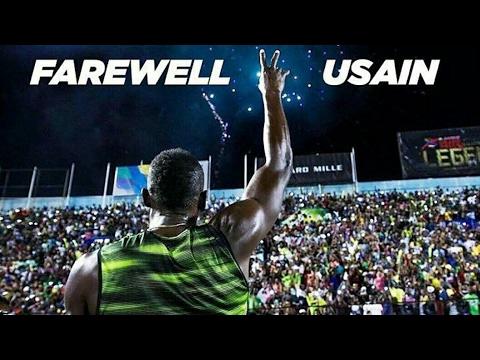 Usain Bolt fair well race in Jamaica