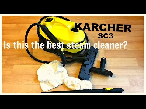 Karcher SC3 Steam Cleaner Review & Demonstration