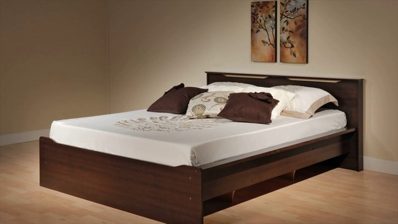 Wooden Bed Designs - YouTube