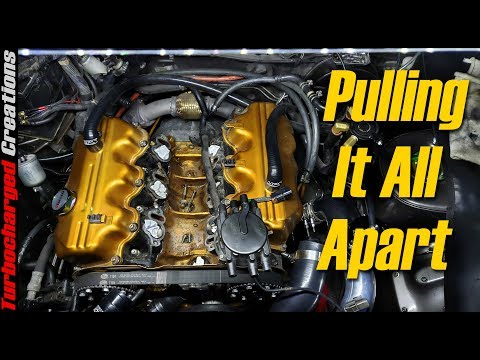 Pulling The Engine Apart - Z31 Megasquirt Build