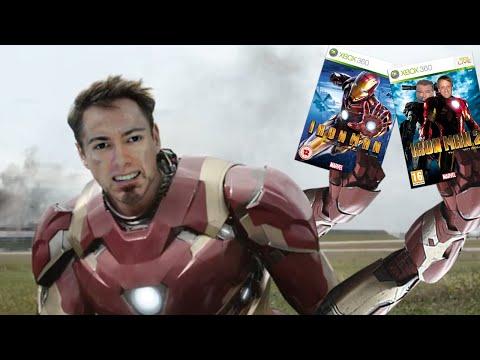 The Iron Man Movie Tie-in Games | Minimme